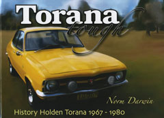 TORANA TOUGH LC LJ LH L34 LX A9X UC BY N DARWIN NEW RELEASE BOOK